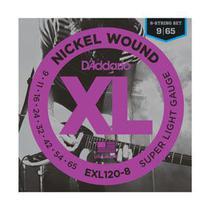 Encordoamento para Guitarra EXL120B 0,09 D'Addario XL -