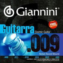 Encordoamento para Guitarra Giannini Geegst 009 -