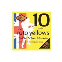 Encordoamento Para Guitarra ROTOSOUND R10 ROTO YELLOWS 010 -