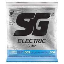 Encordoamento para Guitarra SG Strings 009 Níquel -