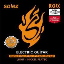 Encordoamento para Guitarra Solez 010 -