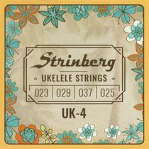 Encordoamento para Ukulele Soprano UK4S Strinberg -