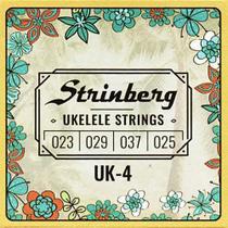 Encordoamento para Ukulele Strinberg UK-4 - Unico
