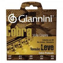 Encordoamento para Viola GESVL Serie Cobra ACO Leve Giannini -