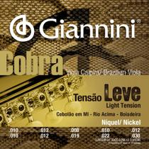 Encordoamento para Viola GESVNL Serie Cobra ACO Leve Giannini -