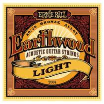 Encordoamento Para Violão Aço Earthwood 2004 Ernie Ball -