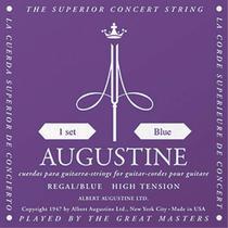 Encordoamento para violão augustine regals blue solist 2g nylon tensão alta -