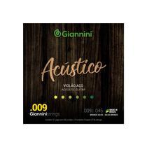 Encordoamento para Violão bronze Giannini 65/35 09 GESWAL -