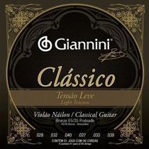 Encordoamento Para Violao Classico Giannini Leve Oferta! -