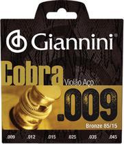 Encordoamento para violao cobra aco .009 bronze geewak - Giannini