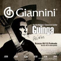 Encordoamento para violão de náilon (nylon), tensão alta,  guinga série signature - sscgg- giannini -