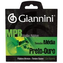 Encordoamento para Violao GENWBG Serie MPB NYLON Media Giannini -