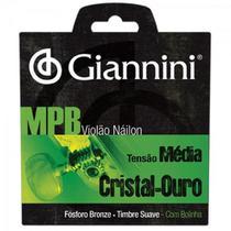 Encordoamento Para Violão Genwg Com Bolinha Nylon Média - Giannini