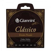 Encordoamento para Violao Genwpa Classico NYLON Pesada Giannini -
