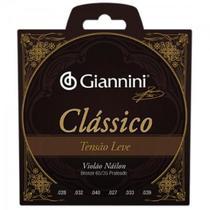 Encordoamento para Violao GENWPL Serie Classico NYLON Leve Giannini -
