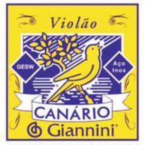 Encordoamento Para Violão Gesw Série Canário Aço Média Giannini -