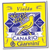 Encordoamento para Violao GESWB Serie Canario ACO 0.11 Giannini -