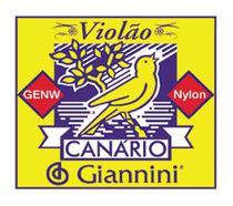 Encordoamento para violão nylon genw - série canário - tensão média - Giannini