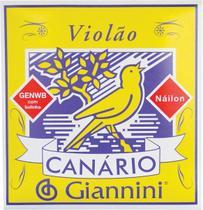 Encordoamento para violão nylon genwb com bolinha - série ca - Giannini