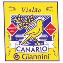 Encordoamento para Violao NYLON GENWB com Bolinha - Serie Canario - Tensao Media - Giannini
