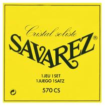 Encordoamento para Violão Nylon Savarez Cristal Soliste Yellow 570CS -