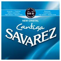 Encordoamento para Violão Nylon Savarez New Cristal Cantiga 510CJ -