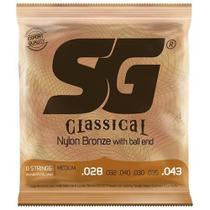 Encordoamento para Violão SG Strings nylon SG-5280 -