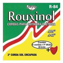 Encordoamento Rouxinol Para Guitarra Elétrica 009/042 R-84 -