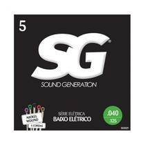 Encordoamento SG 0.40 para Baixo de 5 Cordas -