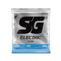 Encordoamento SG 10 c/ 1 Mi Extra para Guitarra -