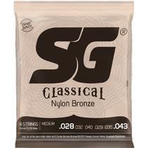 Encordoamento SG Classical Violão Náilon Medium -