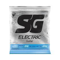 Encordoamento SG Electric P/ Guitarra Níquel 12/52 - EC0462 - Sg strings
