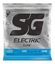 Encordoamento SG Eletric 010 Níquel P/ Guitarra 5198 -
