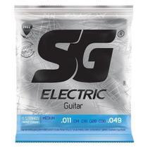Encordoamento SG Eletric 011 Níquel P/ Guitarra 5160 -