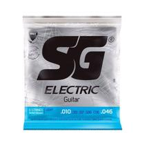Encordoamento SG Eletric P/ Guitarra Nickel Light 10/46 - EC0213 - Sg Strings
