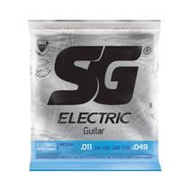 Encordoamento SG Eletric P/ Guitarra Nickel Light 11/49 - EC0381 - Sg Strings