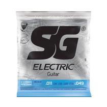 Encordoamento SG Eletric P/ Guitarra Nickel Light 11/49 - EC0381 -