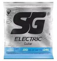 Encordoamento SG Guitarra 010 Sg5198 - Izzo