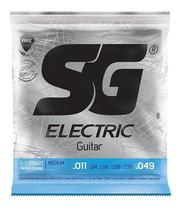 Encordoamento Sg Guitarra 011 + Corda Extra + Palheta -