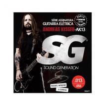 Encordoamento SG Guitarra Andreas Kisser 013 -
