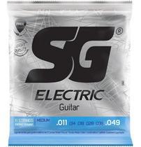Encordoamento Sg Guitarra Sg 011 Níquel -