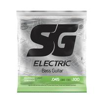 Encordoamento SG P/ Contrabaixo de 4 Cordas Níquel 45/100 - EC0457 - Sg Strings
