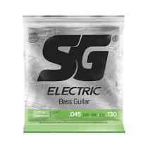 Encordoamento SG P/ Contrabaixo de 5 Cordas Níquel 45/130 - EC0458 - Sg Strings