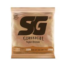 Encordoamento SG P/ Violão Náilon 7 Cordas Tensão Alta - EC0379 - Sg strings