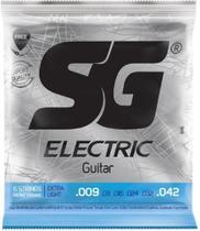 Encordoamento SG Para Guitarra 009 EXTRA LIGHT -