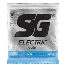 Encordoamento SG Strings .010/.046 Tensão Leve para Guitarra -