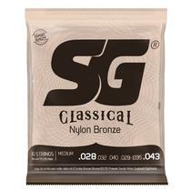 Encordoamento SG Strings 65/35 Tensão Média P/ Violão Nylon -