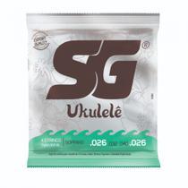 Encordoamento SG Strings Para Ukulele Soprano -