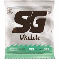 Encordoamento SG Ukulele Concert SG10982 -