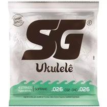 Encordoamento SG Ukulele Soprano SG10981 -